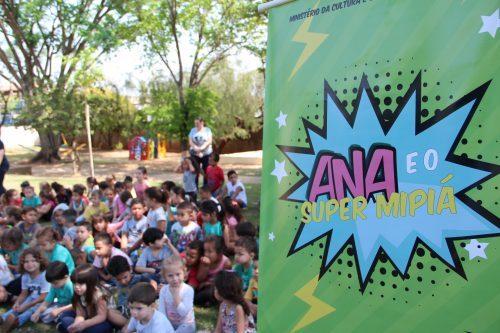 Ana e o Super Mipiá – Piracicaba-SP – Rouanet (IR) – 2018