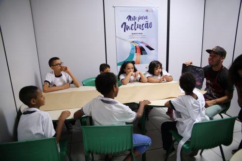 Início do Arte para Inclusão – São Paulo-SP – CONDECA (IR) – 2019